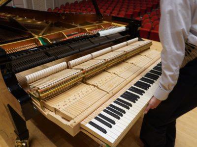 ピアノの保守点検